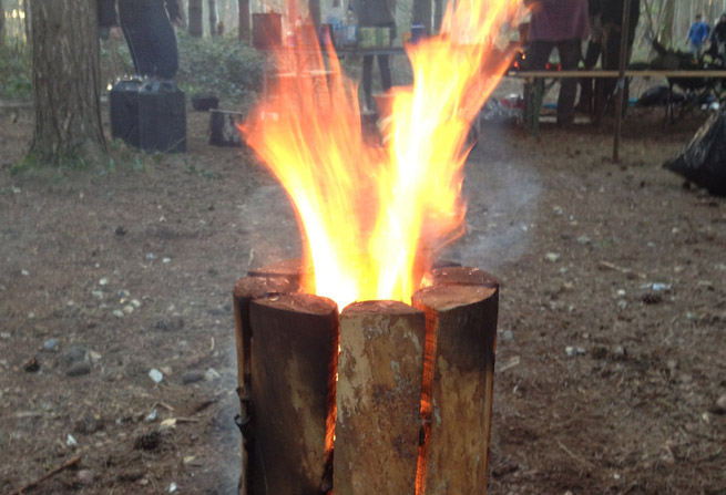 Post image for Making a Swedish Log Candle